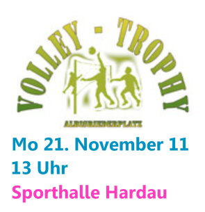 Volleyball-Trophy Infos