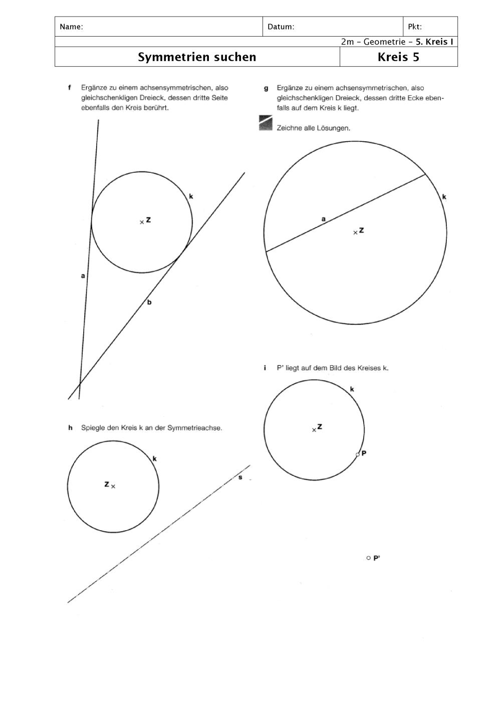 Ziemlich Berühren Mathe Zusatz Arbeitsblatt Galerie - Mathe ...