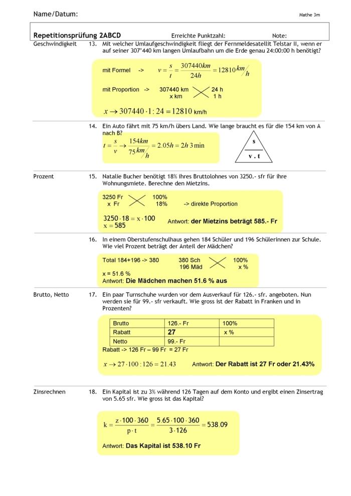 Ubungsaufgaben Mathe 3 Klasse Ziehung
